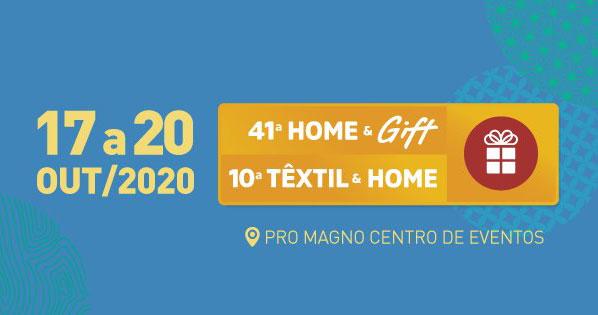 Home & Gift e Têxtil & Home acontece no Pro Magno Eventos BaresSP 570x300 imagem
