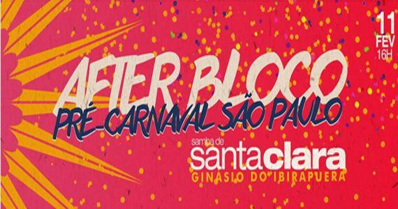 Ginásio do Ibirapuera recebe uma grande festa de carnaval com After Bloco Samba de Santa Clara Eventos BaresSP 570x300 imagem