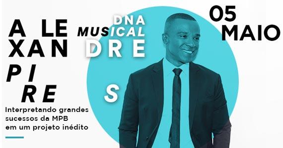 Alexandre Pires apresenta no dia 05 de maio a turnê DNA Musical no Espaço das Américas Eventos BaresSP 570x300 imagem