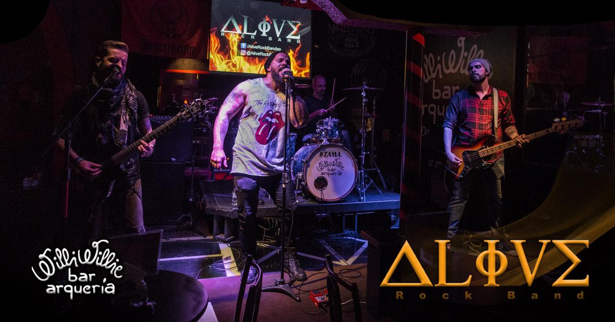 Programação - Alive Rock Band (Classic Rock)