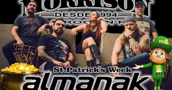 Morrison realiza festa de St. Patrick's com a banda Almanak Eventos BaresSP 570x300 imagem