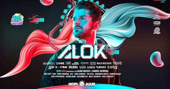 Alok comemora 20 anos do Hopi Hari com mais 25 atrações Eventos BaresSP 570x300 imagem