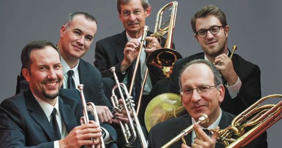 American Brass Quintet um dos grandes nomes da música de câmara se apresenta no auditório do Masp Unilever  Eventos BaresSP 570x300 imagem