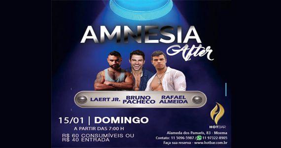 Hot Bar apresenta a Festa Amnesia After com Laert Jr, Bruno Pachedo e Rafael Almeida Eventos BaresSP 570x300 imagem