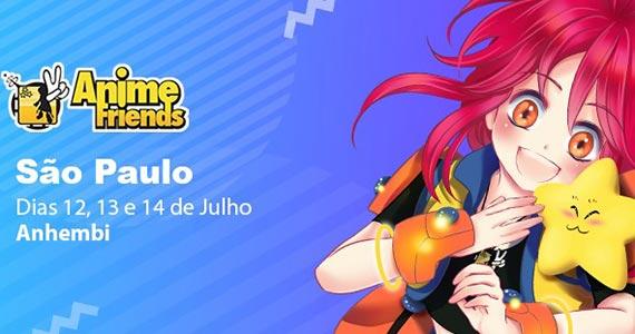 Anime Friends realiza a 16ª edição e agita o mundo geek no Anhembi Eventos BaresSP 570x300 imagem