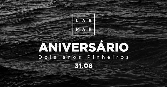 Lar Mar comemora os seus dois anos com grande festa Eventos BaresSP 570x300 imagem