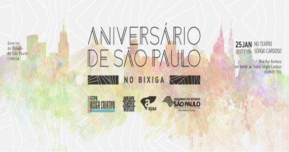 Aniversário De São Paulo No Bixiga com Shows, Teatro E Muito Mais  Eventos BaresSP 570x300 imagem