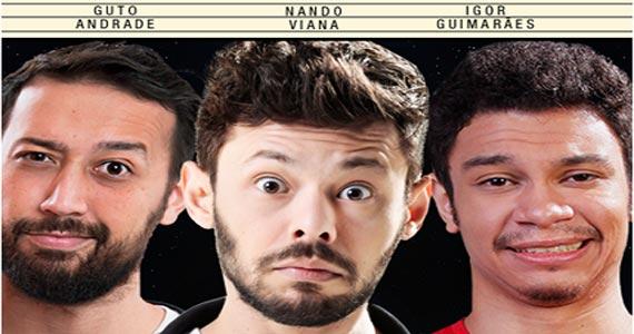 Ao Vivo Comedy apresenta Guto Andrade, Nando Viana e Igor Guimarães arrancando risadas no Ao Vivo Music Eventos BaresSP 570x300 imagem