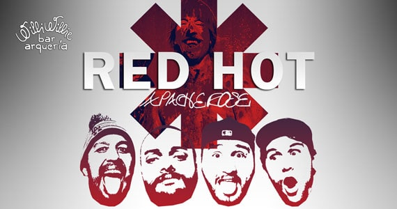 Banda Apache Rose traz o melhor do Red Hot Chili Peppers