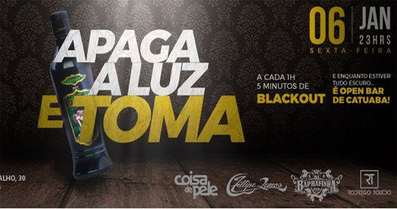 Sábado tem Apaga  a Luz e Toma com blackout Open Catuaba na Moby Club Eventos BaresSP 570x300 imagem