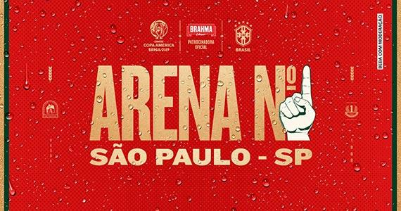 Arena Nº1 Brahma reúne Copa América e música no Anhembi Eventos BaresSP 570x300 imagem
