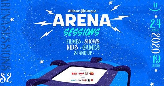 Arena Sessions convida artistas e realiza sessões de cinema drive-in Eventos BaresSP 570x300 imagem