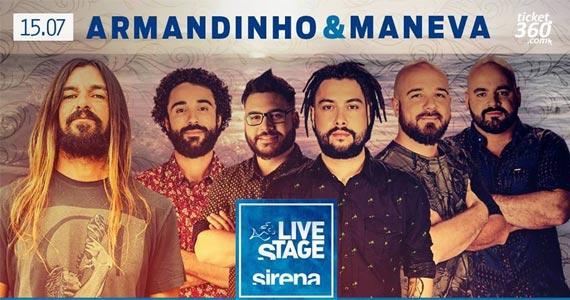O reggae de Armandinho e da banda Maneva invadem o litoral norte de São Paulo no Sirena BaresSP