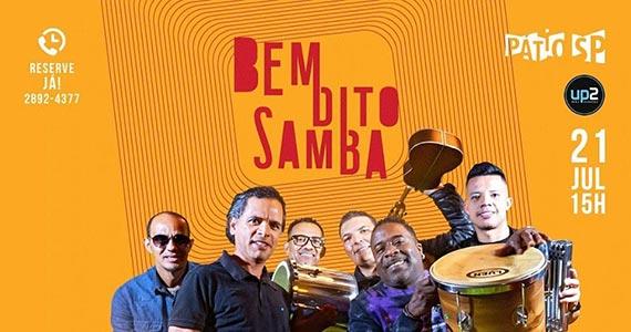 Art Popular se apresenta no Pátio SP no projeto Bem Dito Samba Eventos BaresSP 570x300 imagem