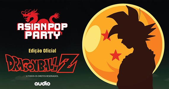 Asian Pop Party Edição Oficial Dragon Ball Z na Audio