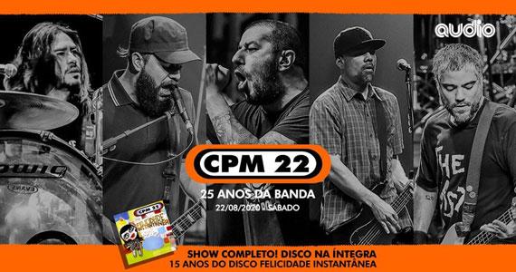 CPM 22 celebra os 25 anos de carreira em show único na Audio Eventos BaresSP 570x300 imagem