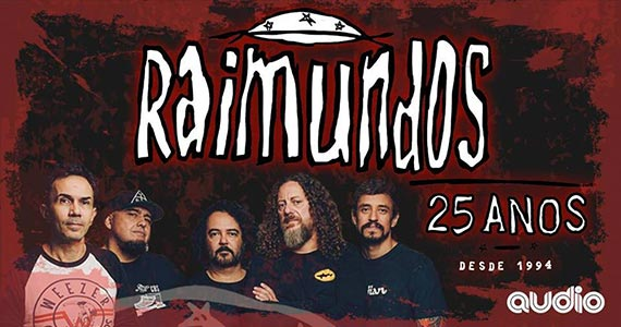 Raimundos comemora os 25 anos do primeiro disco em show na Audio Eventos BaresSP 570x300 imagem