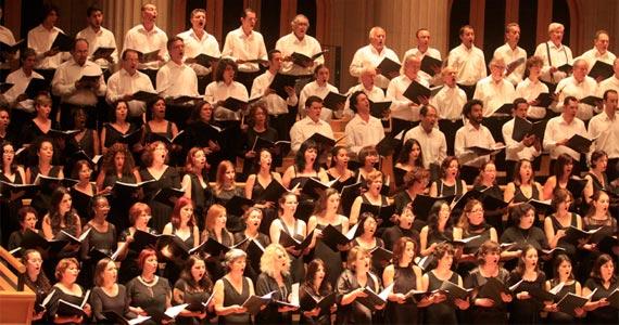 Dois concertos gratuitos comemoram os 50 anos do CORALUSP no Auditório Ibirapuera Eventos BaresSP 570x300 imagem