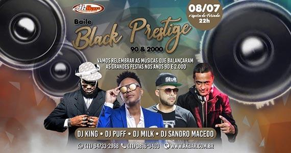 Véspera de feriado com Baile Black Prestige no Akbar Eventos BaresSP 570x300 imagem