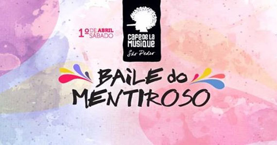Sábado acontece o Baile do Mentiroso animando à tarde de sábado no Café de la Musique Guarujá Eventos BaresSP 570x300 imagem