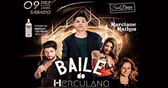 Baile do Herculano recebe Rodrigo Rios, Maria Izabel e Marcianne Mathos no San Diego Bar Eventos BaresSP 570x300 imagem