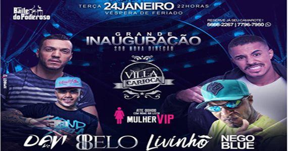 Véspera de feriado tem Baile do Poderoso com Mc Davi, Belo, Livinho e Nego Club no Carioca Interlagos Eventos BaresSP 570x300 imagem