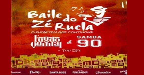 Sábado tem o Baile do Zé Ruela com o grupo Fundo de Quintal no La Luna Club Eventos BaresSP 570x300 imagem