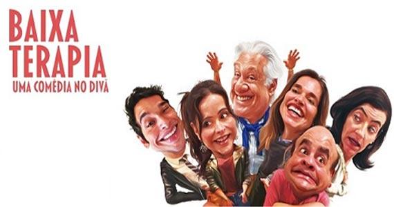 Ensaio aberto do espetáculo Baixa Terapia com Antonio Fagundes no Teatro Tuca Eventos BaresSP 570x300 imagem