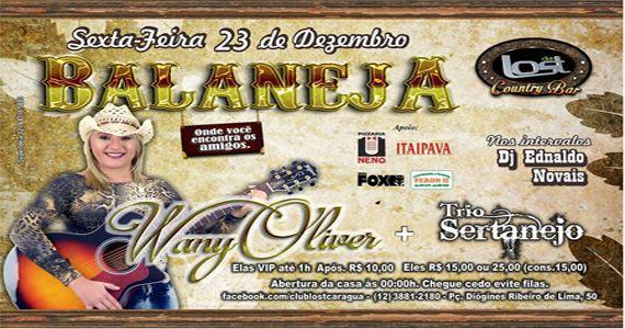 A cantora Wany Oliver, Trio Sertanejo e Dj Ednaldo Novais agitam à noite no Club Lost Eventos BaresSP 570x300 imagem