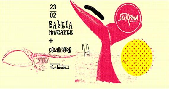 27ª Edição da Surdina com a banda Baleia Mutante e Comodoro na Funhouse BaresSP