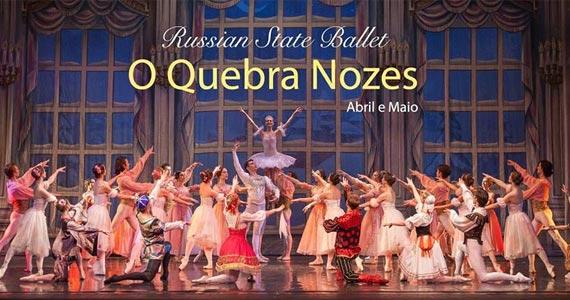 Pela primeira vez no Brasil Russian State Ballet apresenta o espetáculo O Quebra Nozes no Tom Brasil Eventos BaresSP 570x300 imagem