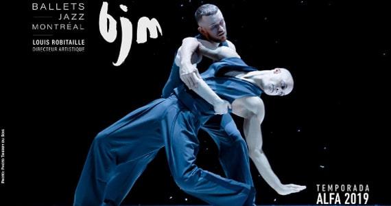 Teatro Alfa recebe espetáculos do Ballet Jazz de Montreal Eventos BaresSP 570x300 imagem