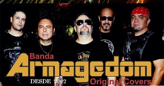 A banda Armagedom toca os clássicos do rock e pop no palco do Wild Horse Music Bar Eventos BaresSP 570x300 imagem