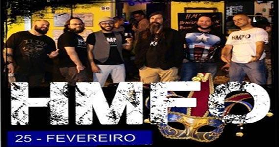 Sábado de carnaval tem show da Banda HMFO agitando a Casa Amarela Pub Eventos BaresSP 570x300 imagem