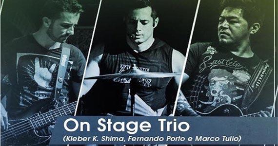 Quinta-feira a banda On Stage Trio solta a voz no palco do Wild Horse Music Bar Eventos BaresSP 570x300 imagem