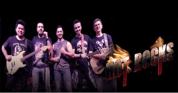 Banda Hot Rocks traz o melhor do pop ao rock, dos anos 50 aos sucessos atuais no The Blue Pub Eventos BaresSP 570x300 imagem