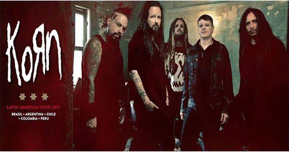 Show imperdível da banda de metal Korn em São Paulo no Espaço das Américas Eventos BaresSP 570x300 imagem