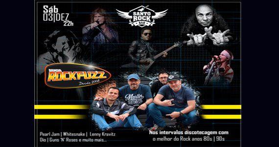 Sábado vai rolar os embalos da banda Rock Fuzz no Santo Rock Bar Eventos BaresSP 570x300 imagem