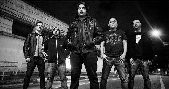 A banda Templários se apresenta no palco do All Black tocando o melhor do rock Eventos BaresSP 570x300 imagem