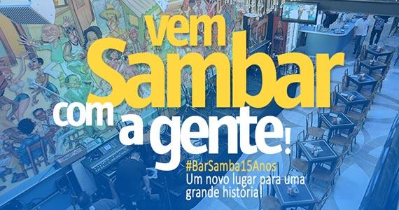 Bar Samba oferece programação especial para as férias Eventos BaresSP 570x300 imagem