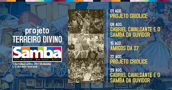 Criolice animam o Bar Samba em novo projeto Eventos BaresSP 570x300 imagem