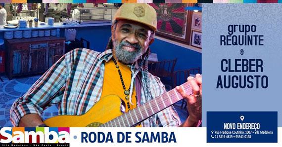 Grupo Requinte e Cleber Augusto agitam Bar Samba no Terreiro Divino Eventos BaresSP 570x300 imagem