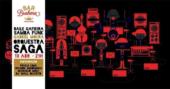Orquestra Saga recebe Seu Jorge, Simoninha, Paula Lima e Marcelo Mira no Bar Brahma- Centro Eventos BaresSP 570x300 imagem