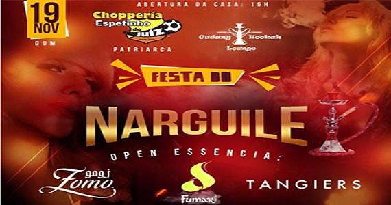 Festa do Narguile com Davi e Neguinho do Kaxeta no Bar Espetinho do Juiz Patriarca Eventos BaresSP 570x300 imagem
