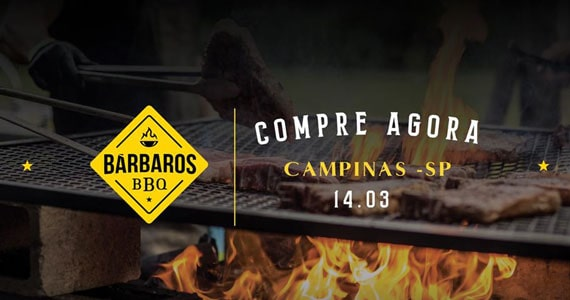 Bárbaros BBQ tem nova edição na cidade de Campinas Eventos BaresSP 570x300 imagem