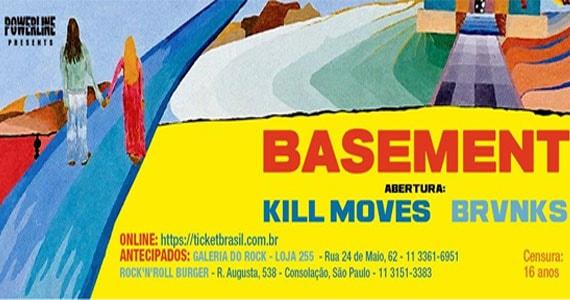 Os ingleses do Basement se apresentam na Clash Club ao lado das bandas Kill Moves e Brvnks Eventos BaresSP 570x300 imagem