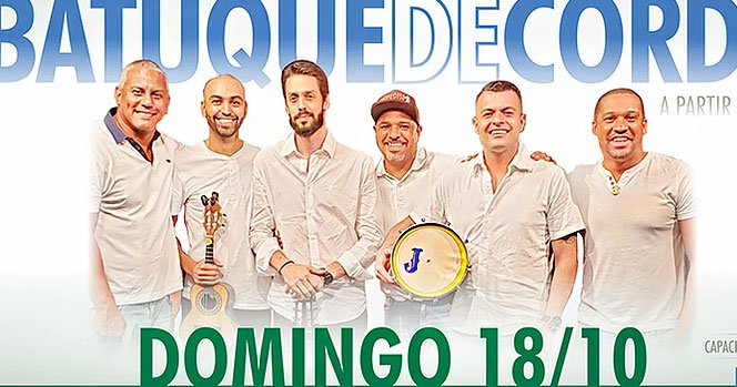 Domingo é dia de curtir o som do grupo Batuque de Corda no Vila do Samba Eventos BaresSP 570x300 imagem