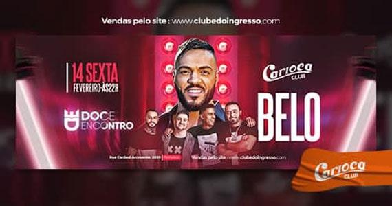 Cantor Belo retorna ao Carioca Club com o grupo Doce Encontro Eventos BaresSP 570x300 imagem