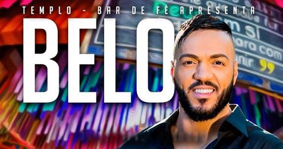 Cantor Belo se apresenta no Templo Bar e Fé com as canções do último álbum Eventos BaresSP 570x300 imagem