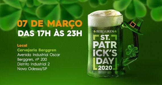 Cervejaria Berggren realiza festa em comemoração ao St. Patrick's Day Eventos BaresSP 570x300 imagem